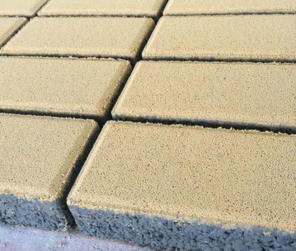 国丽海绵体透水砖样砖展示