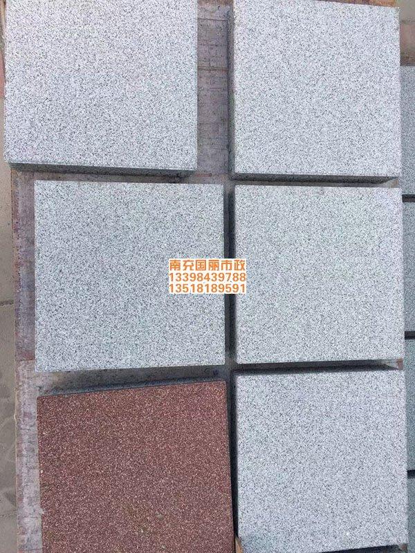 南充透水砖各色海绵体仿石材透水砖4